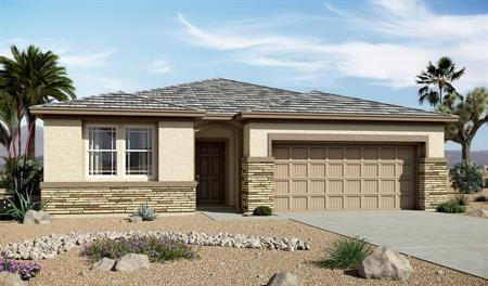 Exterior C of the Samantha floor plan in the Centennial Valley community