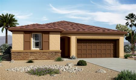 Exterior C of the Sarah floor plan in the Centennial Valley community