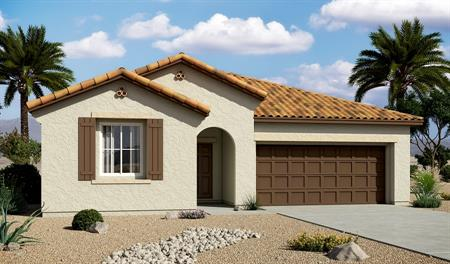 Exterior A of the Stephen floor plan in the Centennial Valley community