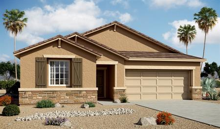 Exterior B of the Stephen floor plan in the Centennial Valley community