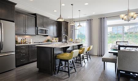 Kitchen of the Kenyon floor plan