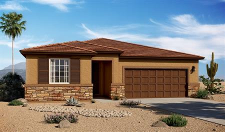 Exterior C of the Augusta floor plan in the Linda Vista Heights community