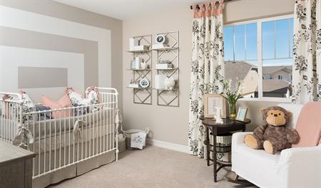 Nursery in the Coral floor plan