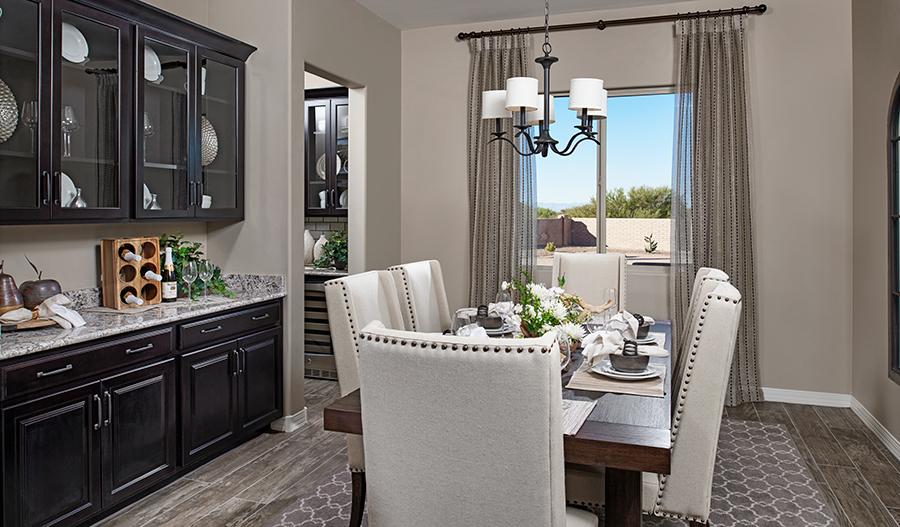 Dining room in the Dominic floor plan