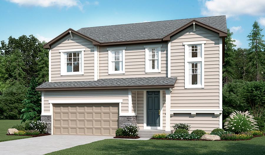 New Homes In Castle Rock Co Home Builders In Terrain