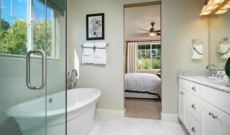 Master bath in the Jessica floor plan