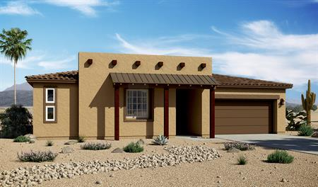 Exterior C of the Delaney floor plan in the Rancho Reina community
