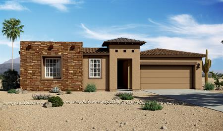 Exterior C of the Denise floor plan in the Rancho Reina community