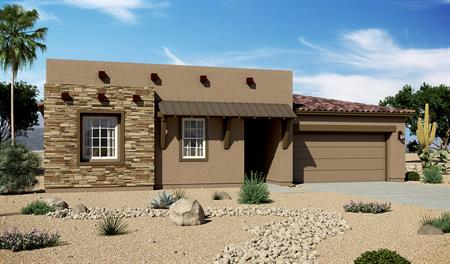 Exterior C of the Daniel floor plan in the Rancho Reina community