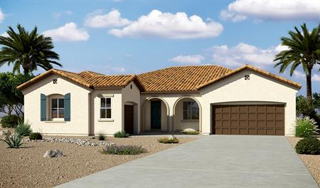 Exterior A of the Hanford floor plan in the Arlington Point community