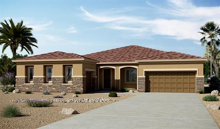 Exterior C of the Hanford floor plan in the Arlington Point community
