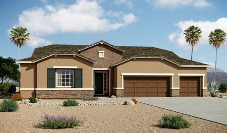 Exterior B of the Holbrook floor plan in the Arlington Point community