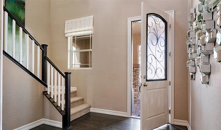 Entry way of the Belle floor plan