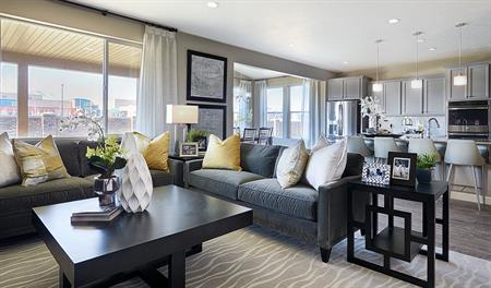 Greatroom in the Coronado floor plan