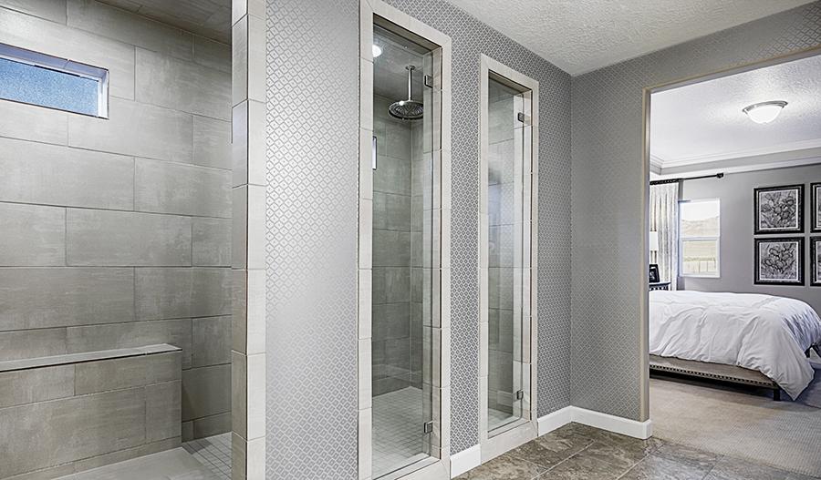Master bath in the Hopewell floor plan