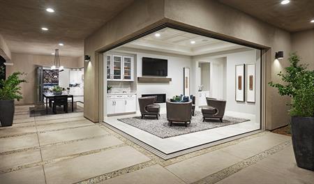 Open sitting room in the Melbourne floor plan