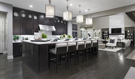 Kitchen in the Reilly floor plan