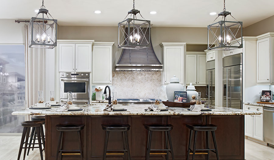 Kitchen in the Rockwell floor plan