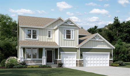 Exterior G of the Donovan floor plan in Old Dominion Greens