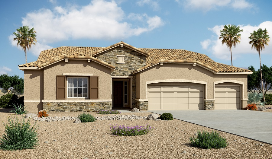 Exterior B of the Holbrook floor plan