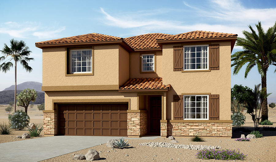 Exterior C of the Coronado floor plan