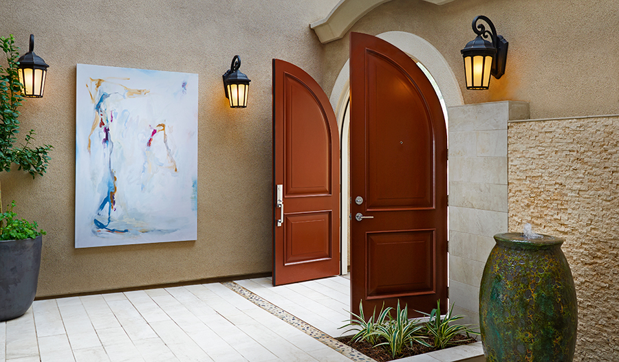 Entry way of the Melbourne floor plan
