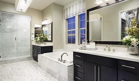 Bathroom in the Melbourne floor plan
