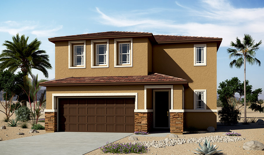Exterior C of the Coral floor plan in the Moonstone floor plan