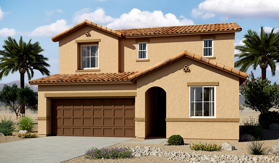 Exterior A of the Citrine floor plan in the Moonstone community