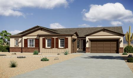 Exterior B of Ryder floor plan