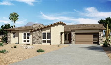 Exterior C of Ryder floor plan