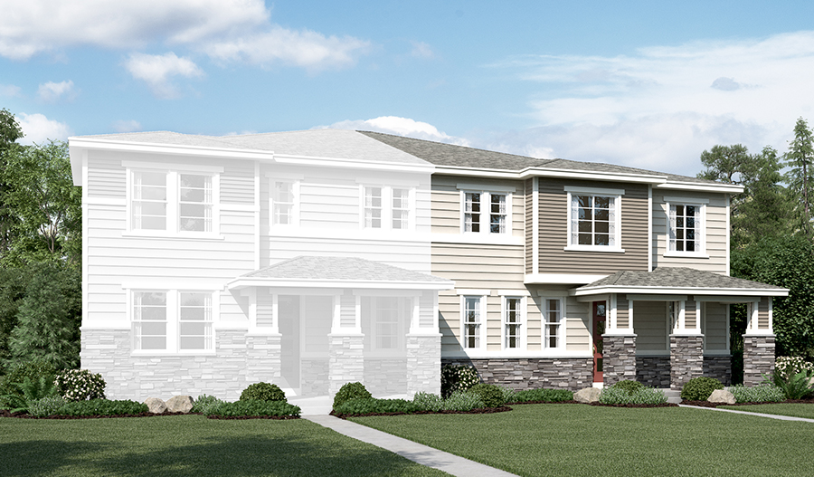 The Norah at The Park at Serenity Ridge - Elevation C