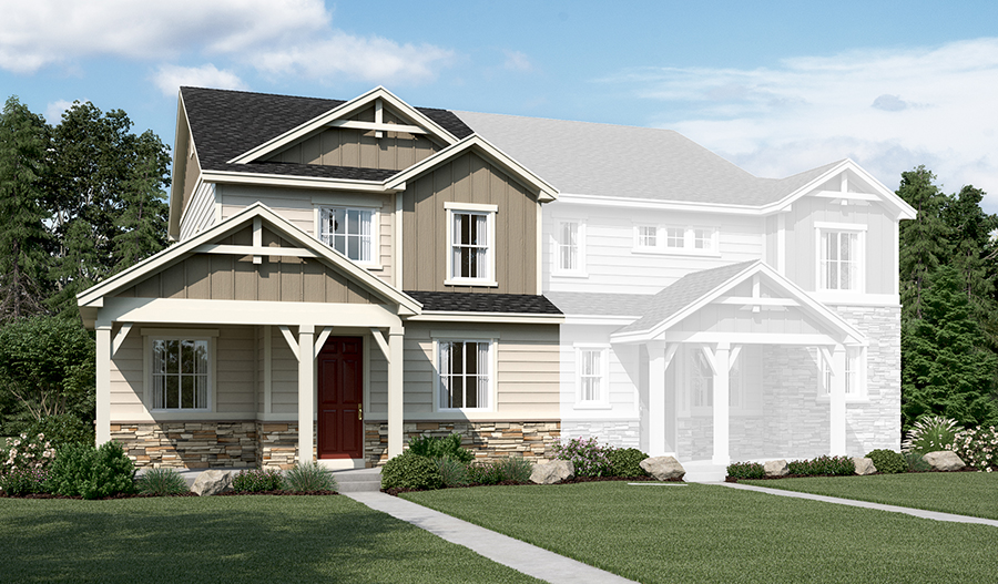 The Niles at The Park at Serenity Ridge - Elevation B