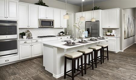 Kitchen in Allman floor plan