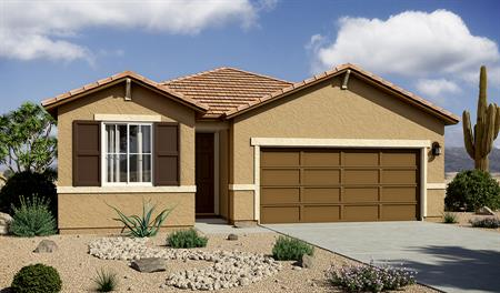 Exterior B of the Peridot floor plan in the La Estancia community