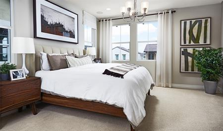 Master Bedroom in the Balsam floor plan
