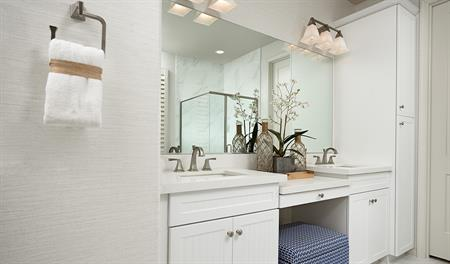 Master bathroom of the Indigo floor plan