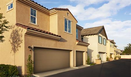 New homes in the Mackenna Park community in Chino