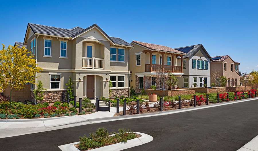 New homes at Mckenna Park in Chino