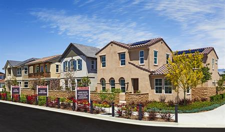New homes in Mckenna Park in Chino