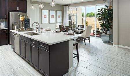 Kitchen in the Alameda floor plan