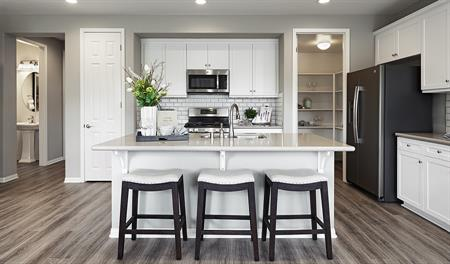 Kitchen in the Longshore floor plan