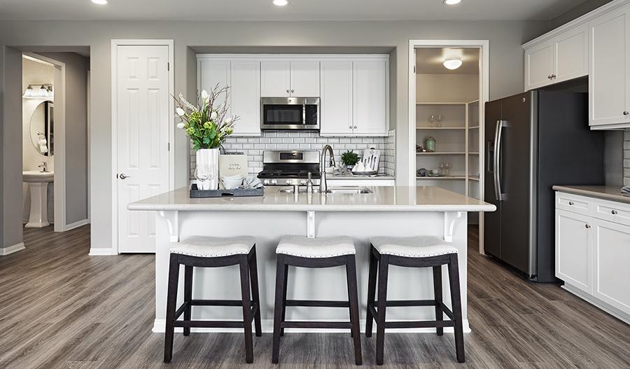 Kitchen in the Longshore floor plan