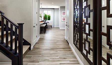 Entry of the Bernard floor plan