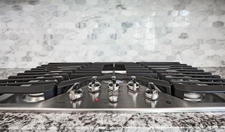 Kitchen of the Lance floor plan