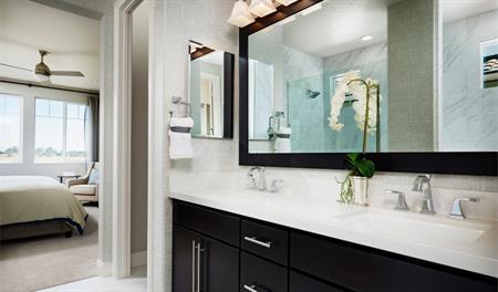 Master bathroom of the Lynn floor plan