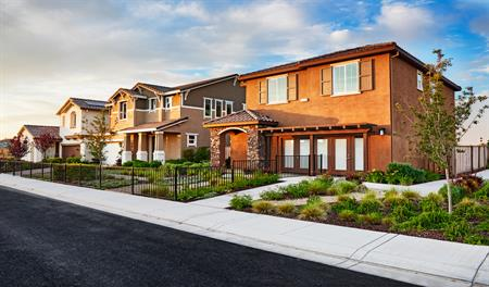 New homes at Willow at Emerson Ranch in Northern California