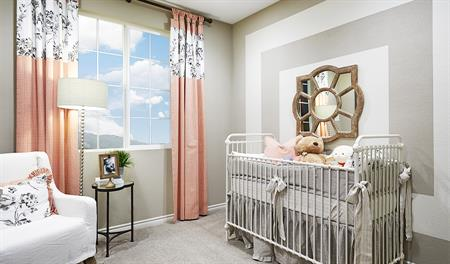 Nursery in the Alameda floor plan