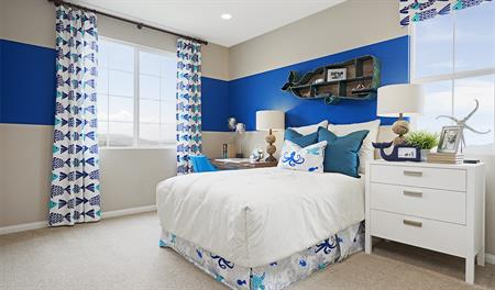 Kids bedroom in the Indigo floor plan