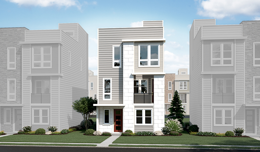 The Devoe at Cityscapes at The Views - Elevation C